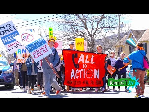 Kent, CT students rally for gun legislation 4-20-18