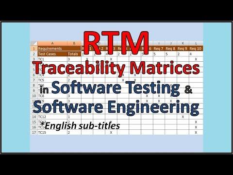Requirements Traceability Matrix - RTM tutorial - superb explanation