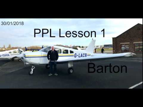 PPL Private Pilot Licence Flying Lesson 1 Barton