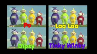 Every Single Teletubby Chosen For A TV Event Combined!