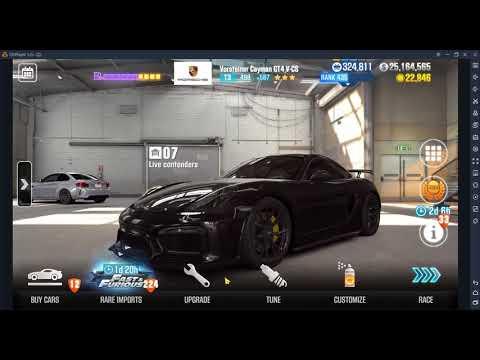 CSR2 Vorsteiner Cayman GT4 V-CS Tempest 3 Tier 3 setup and