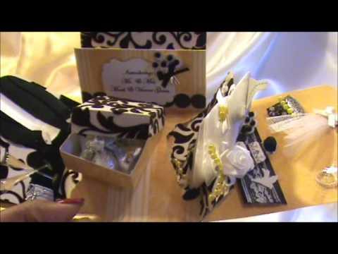 EXPLOSION BOX #2 - WEDDING INVITATION: