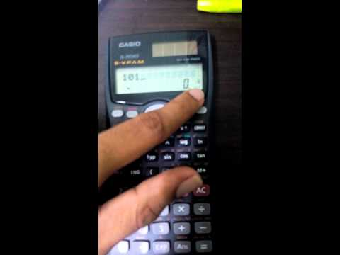 conversions using scientific calculator