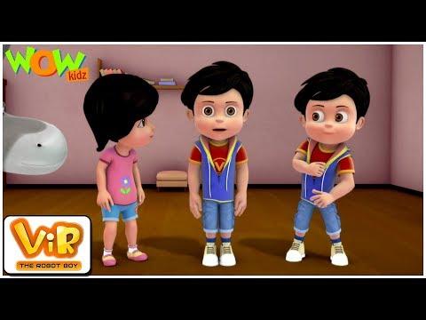 Xxx Mp4 Vir The Robot Boy Hindi Cartoon For Kids Robot Vir Animated Series Wow Kidz 3gp Sex