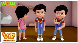 Vir The Robot Boy | Hindi Cartoon For Kids | Robot vir | Animated Series| Wow Kidz