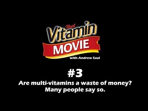 Vitamin Shorts #3 Multi-vitamins - are they worth it?