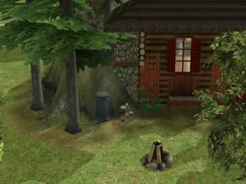Sims 2 - Building a house for bigfoot