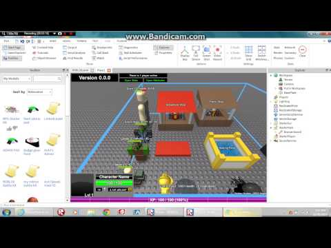 How to make a RPG GAME ON ROBLOX READ DESC