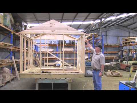 How to build a cubby house Cladding Part 2.