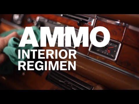 How to Use AMMO Interior Regimen
