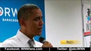 USA President Barack Obama Emotional Speech With Tears