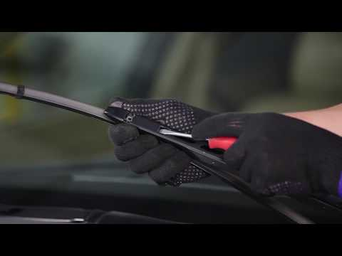 How to replace front wiper blades on BMW 5 E60 TUTORIAL | AUTODOC