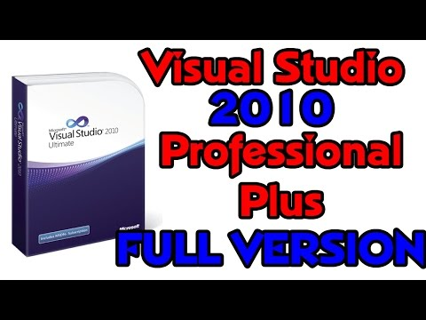 2017 How to install and download Visual Studio 2010 Professional For Free