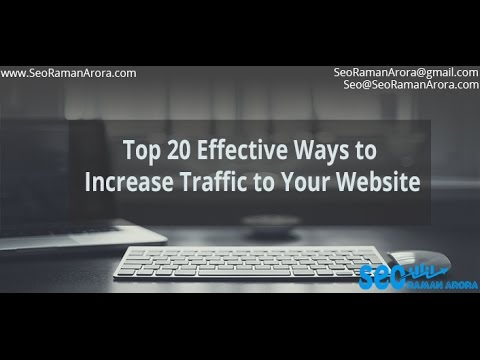 Effective Ways to Improve traffic to Your Website | Seo Tips and Tricks | Digital Marketing