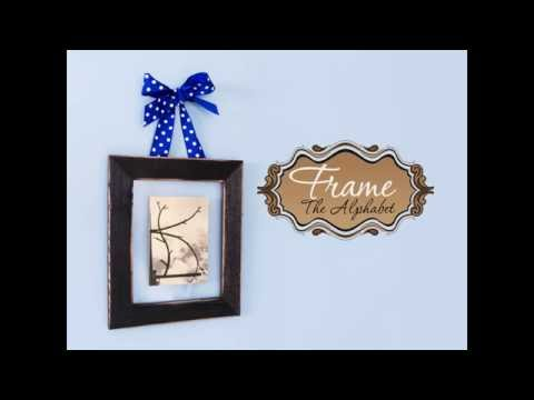 DIY - How to Create Standup Letter Floating Frames