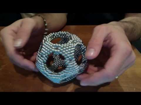 Truncated Icosidodecahedron or rhombicosidodecahedron (zen magnets)