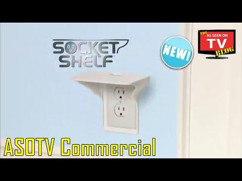 Socket Shelf As Seen On TV Commercial Buy Socket Shelf As Seen On TV Electrical Outlet Shelf