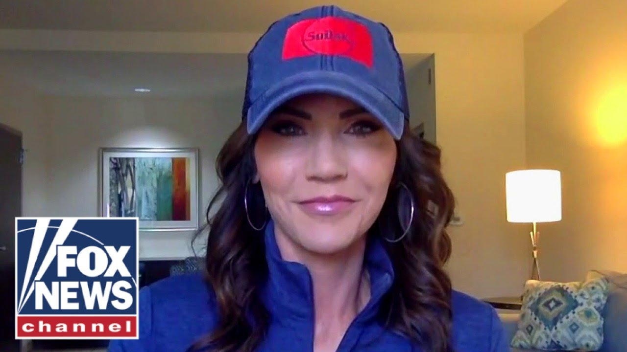 Kristi Noem invites laid off police officers to come to South Dakota
