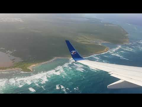 Take off from punta cana airport