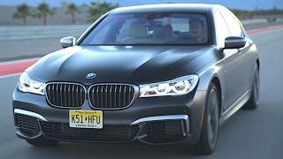 BMW M760Li Acceleration 2018 Driving On Track 0-100 KPH Great Engine Sound BMW G11 G12 M760Li xDrive