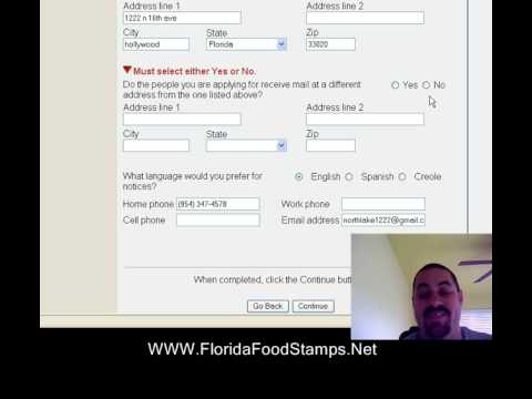 How To Apply For Florida Food Stamps