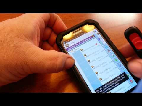 Transfer files to a flash drive SAMSUNG NOTE 2 S3