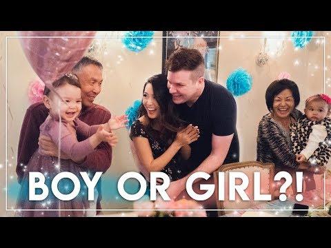 GENDER REVEAL || Baby Tiptoe 2! We're having a...