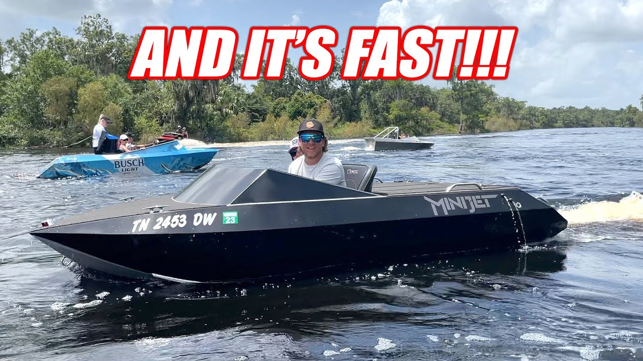 So We Found Another Jet Boat On Marketplace... WELL WORTH IT!!! + Plans for the Race Week Blazer!
