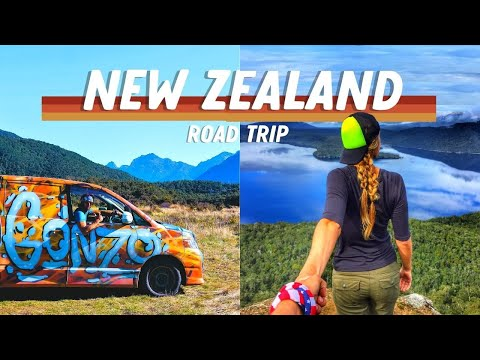 New Zealand Campervan Road Trip- North and South Island on a Budget