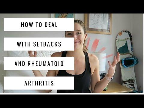 How To Deal With Setbacks & Rheumatoid Arthritis Flare Ups