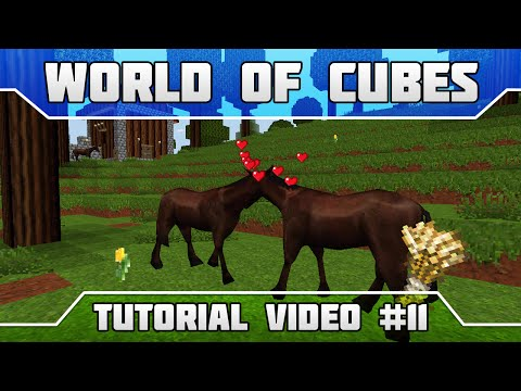 WoC Tutorials: How to Tame, Feed, Breed Passive Mobs