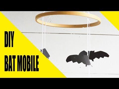 DIY BAT MOBILE