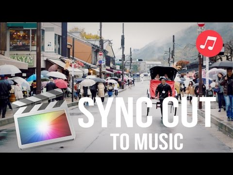 How To Sync Cut To The Beat/Add Music To Videos - Final Cut Pro Tutorial