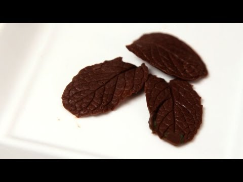 How to Make Chocolate Leaves | Candy Making