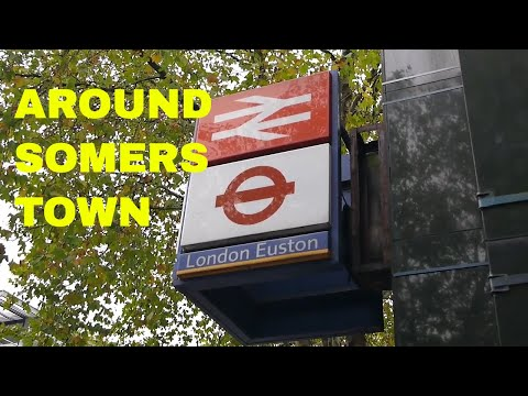 Exploring Somers Town (and Drummond Street) around Euston and St. Pancras