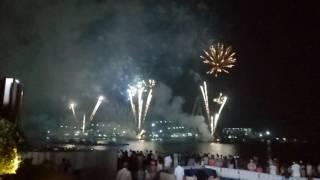 Dubai Firecracker show