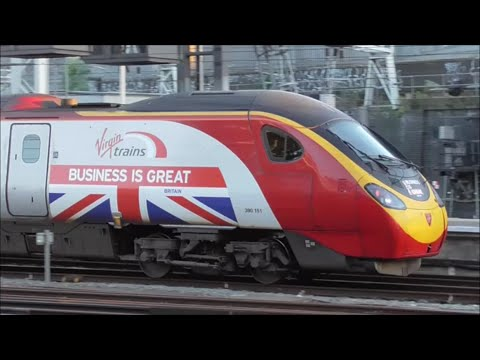 Trainspotting at London Euston Station | 05/07/16