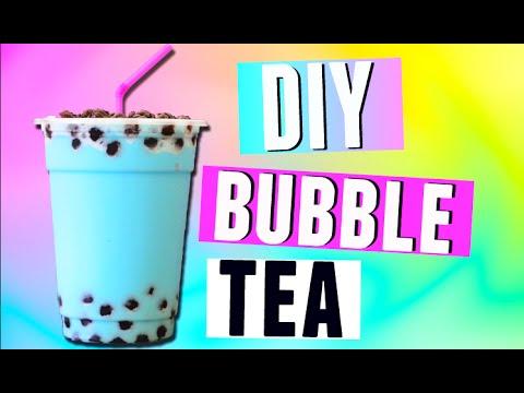 DIY Bubble Tea Drink / Boba Tea Recipe! 2015