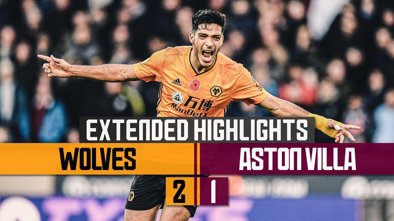 Brilliant Neves & Jimenez goals hand Wolves victory! | Wolves 2-1 Aston Villa | Extended Highlights