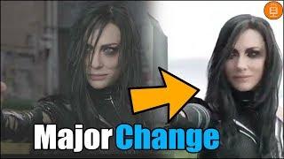 Thor Ragnarok MAJOR Scene Change Explained