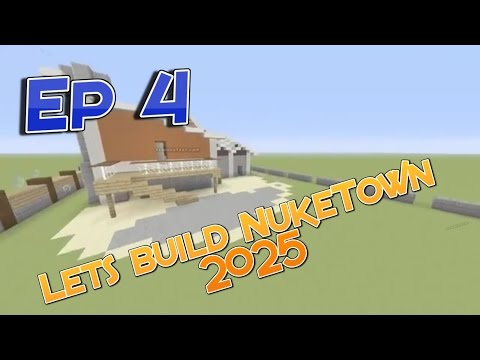 Lets Build NukeTown 2025 Ep 4 - Backyard