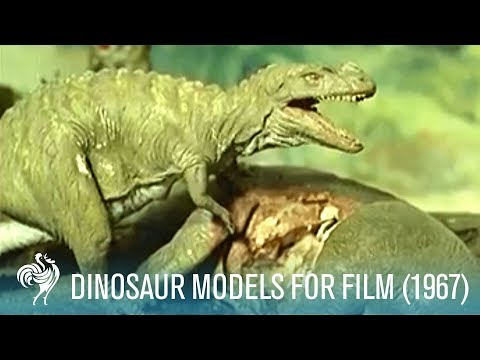 Prehistoric Horrors Aka Dinosaur Models For Film (1967) | British Pathé