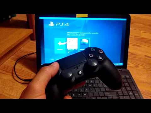 PS4 Remote Play Problem & Wireless Controller