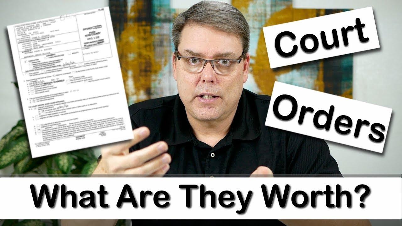 Understanding Court Orders