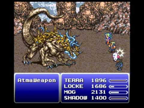 Final Fantasy VI - Floating Continent: Atma Weapon