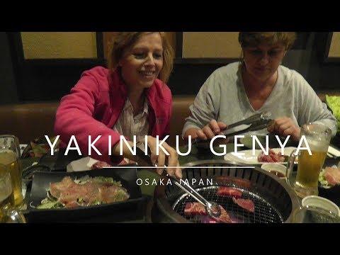 Japan, Osaka - Yakiniku Genya (Kobe restaurant) (2018)
