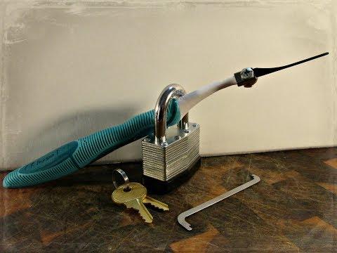HOW TO MAKE ELECTRIC TOOTHBRUSH LOCK PICKING TOOL