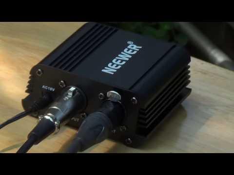 Neewer 48V Phantom Power Supply