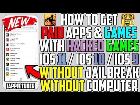How To Get Paid Apps / Games & Hacked Games FREE iOS 11 / iOS 10 - 10.3.3 (NO Jailbreak NO Computer)