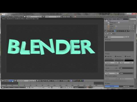 How To Make 3D Text? - Blender Tutorial ( For beginners)